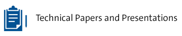 Technical Papers and Presentations